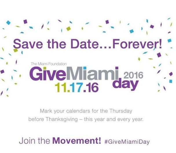 SAVE THE DATE! Join CABA for Give Miami Day, just a couple weeks away!!