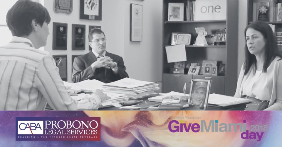 SUPPORT CABA PRO BONO'S GIVE MIAMI DAY